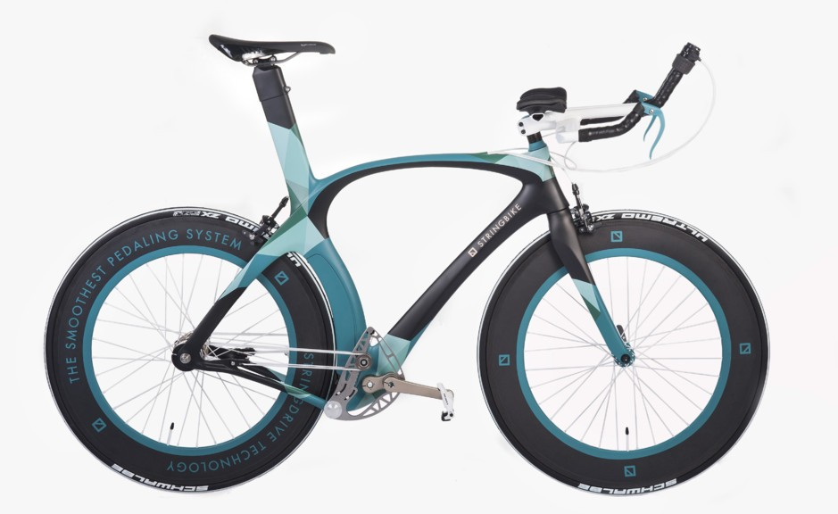 Stringbike: Carbon Time Trial Bicycle