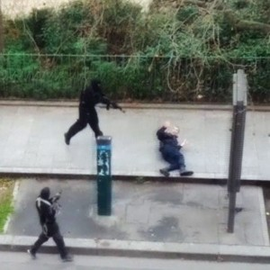 The Charlie Hebdo Islamic Terrorists Murder Policeman