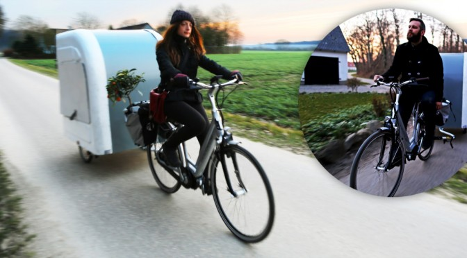 Bicycle Camper - Wide Path