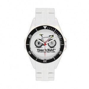 Cycling Watch from Velo Logic - stainless steel precision time piece