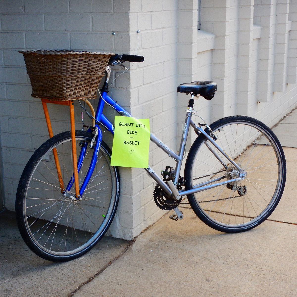 A Giant City bicycle for sale in Asheville NC.