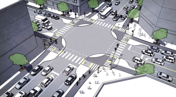 Protected Intersections for Cyclists