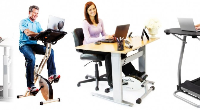 Deskercise: Treadmill Desks, Workout Desks and Exercise Desks