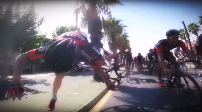 Video: The Thrills and Spills in Cycling 2015