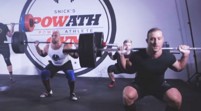 5 Minute Squat Battle: Cyclist vs. Weightlifters