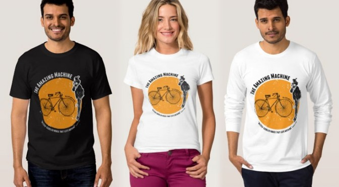 Cool Cycling Tee Shirts – a Sweetheart Deal!