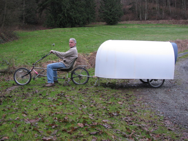 "The Micro ""Airstream"" Bicycle Camper"