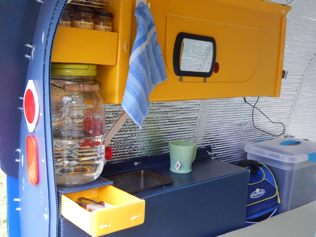 Inside the Micro Airstream