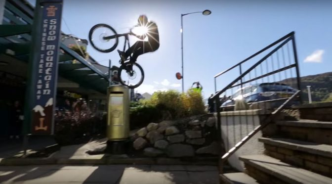Danny MacAskill Trick Riding in Aviemore Spring