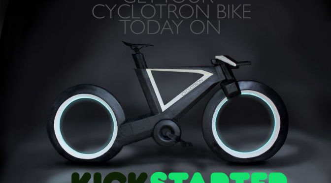 Sci-Fi Bicycle Seeks Funding