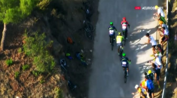 Video Highlights of Vuelta Stage 17 2016
