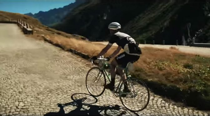 Haute Route Dolomites... on a vintage single speed bicycle