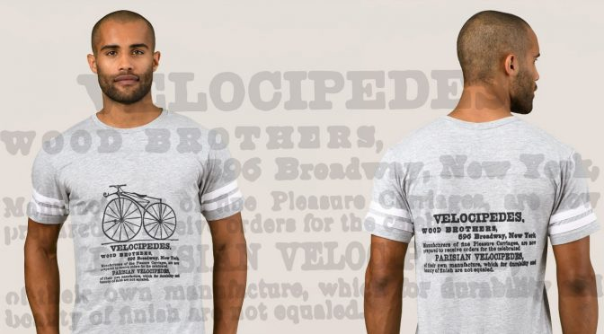 "Introducing ""Velocipedes"" – New Cycling Tee Shirt"