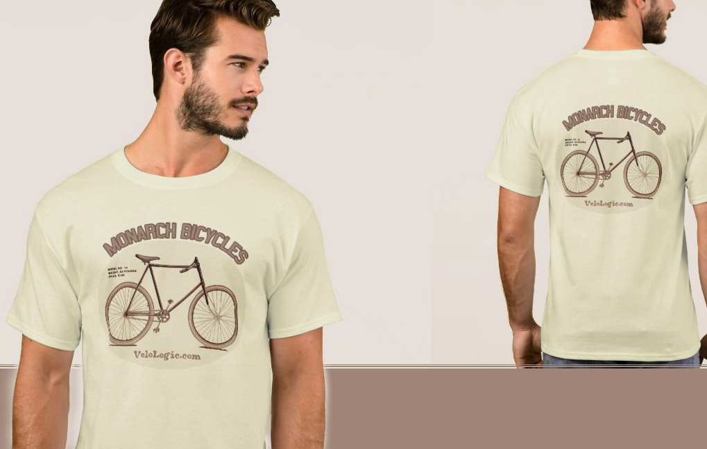 Vintage / Retro Cycling and Bicycle Tee Shirts