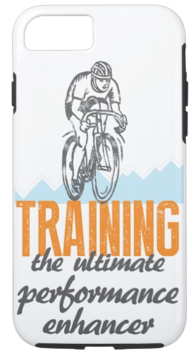 iPhone Case for Cyclists with Bicycle Graphic
